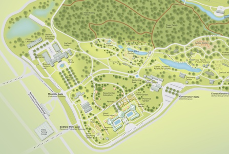 Project image 2 for Infographics, New York Botanical Garden