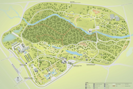 Project image 1 for Infographics, New York Botanical Garden