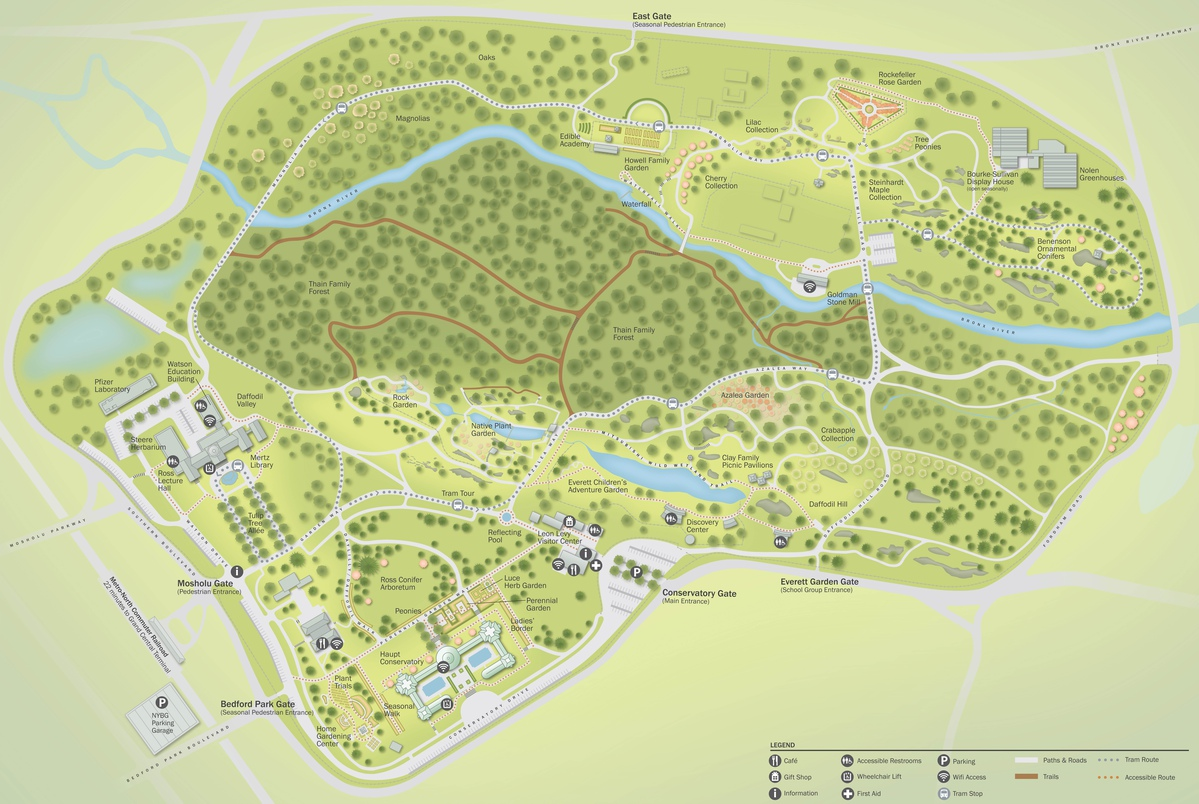 Project image 3 for Mapping, New York Botanical Garden