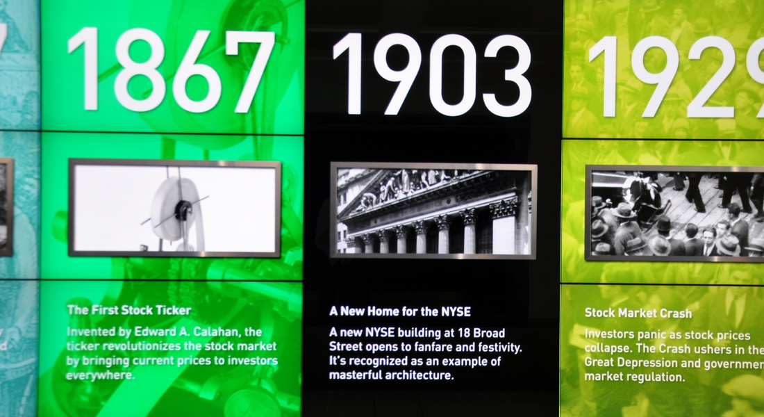 Project image 3 for Lobby Timeline , New York Stock Exchange