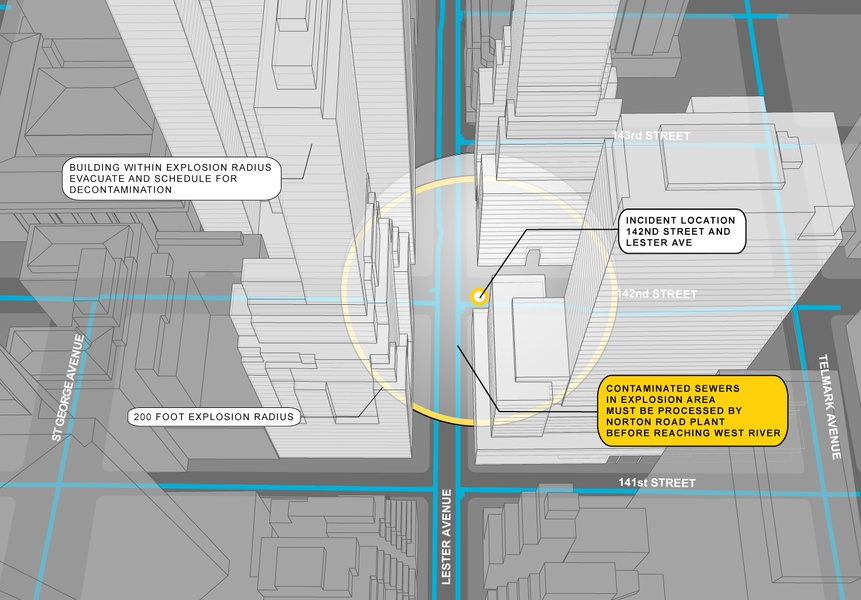 Project image 2 for Vertical Integration Mapping, New York City Office of Emergency Management