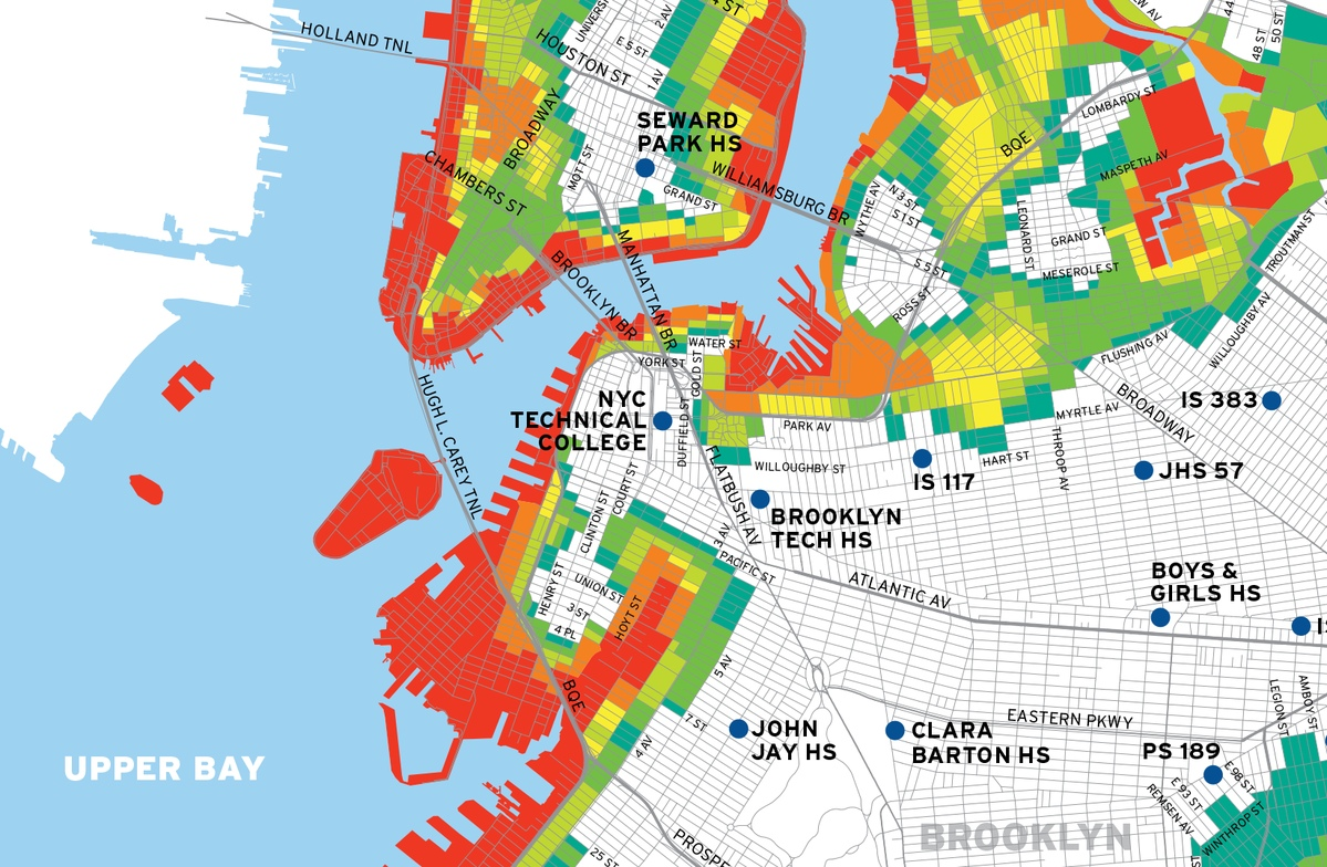 Project image 3 for Hurricane Map, New York City Office of Emergency Management