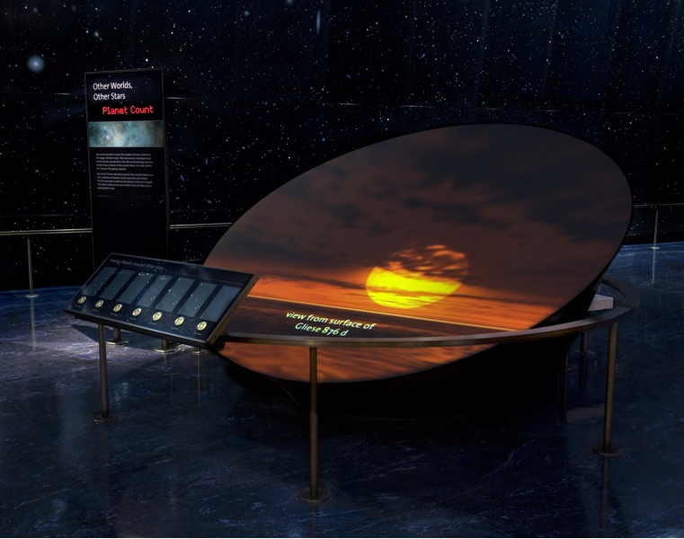 Griffith Observatory, Permanent Exhibits