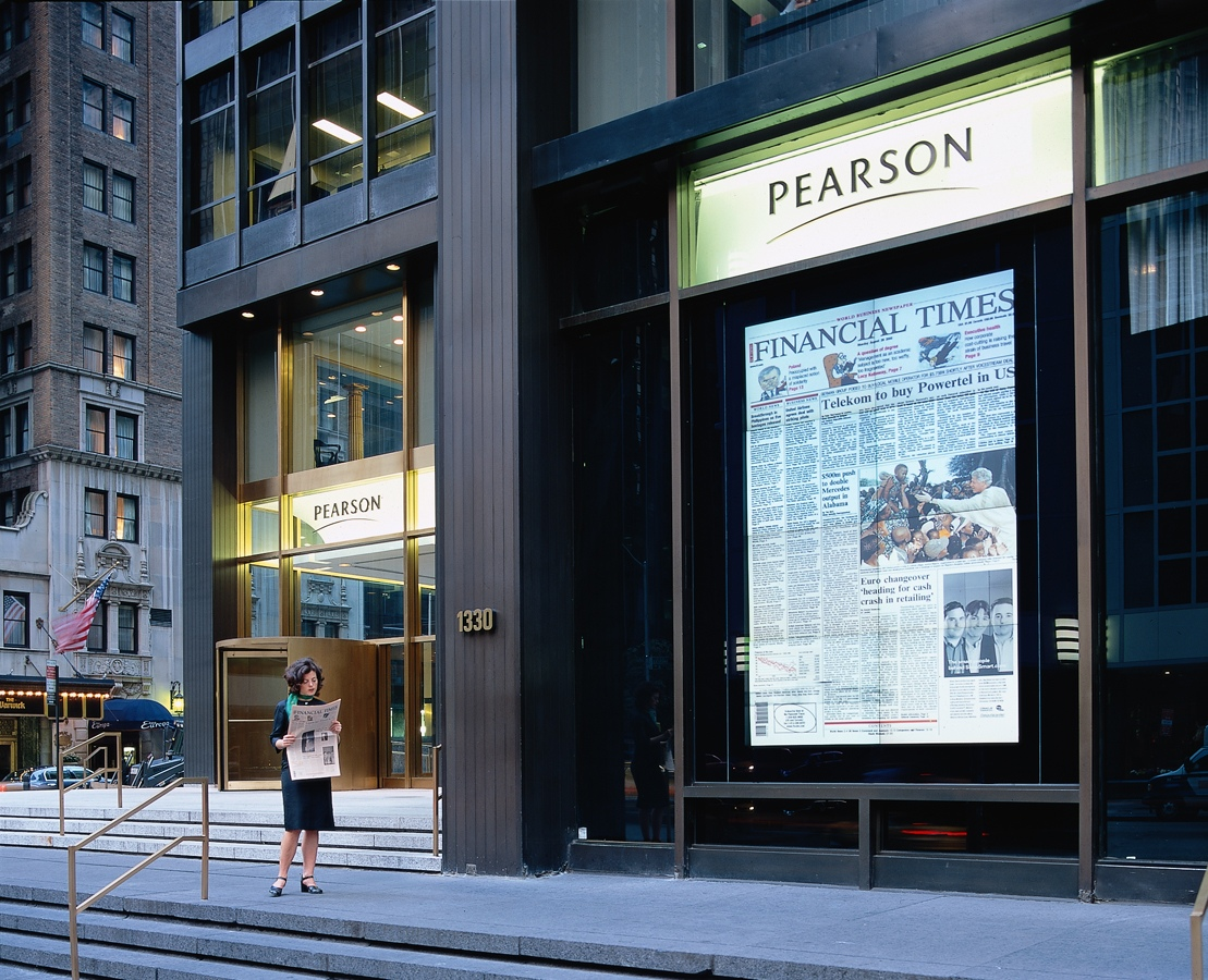 Pearson / The Financial Times, Media Installation