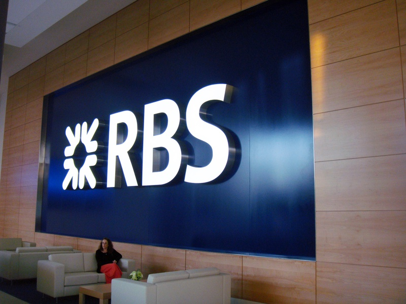 RBS / Royal Bank of Scotland, Signage and Architectural Graphics