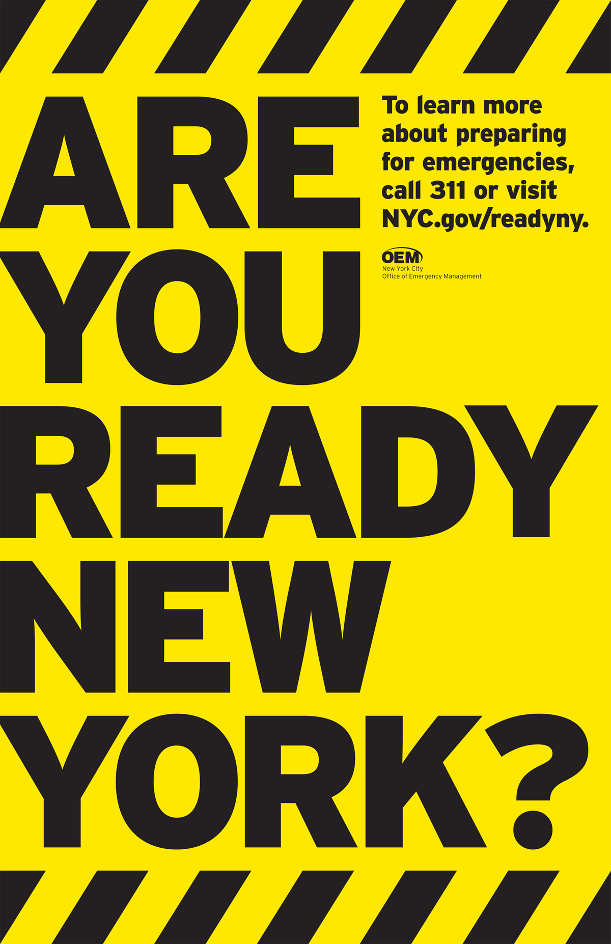New York City Office of Emergency Management, Brochures