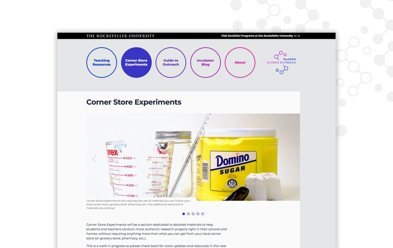 web design for science