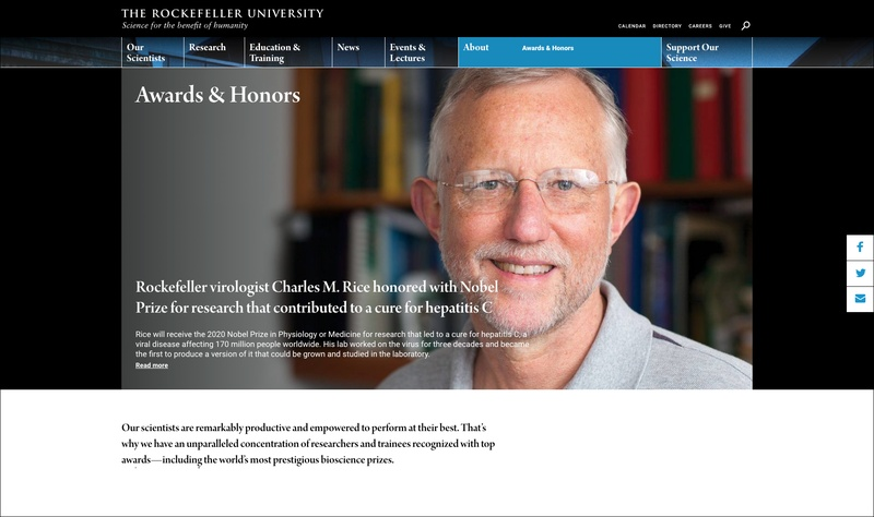 Rockefeller University Website