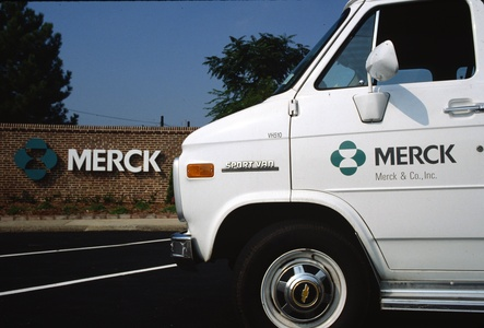 Pharmaceutical branding MERCK