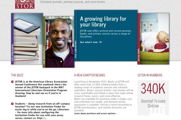 Fresh Project: JSTOR