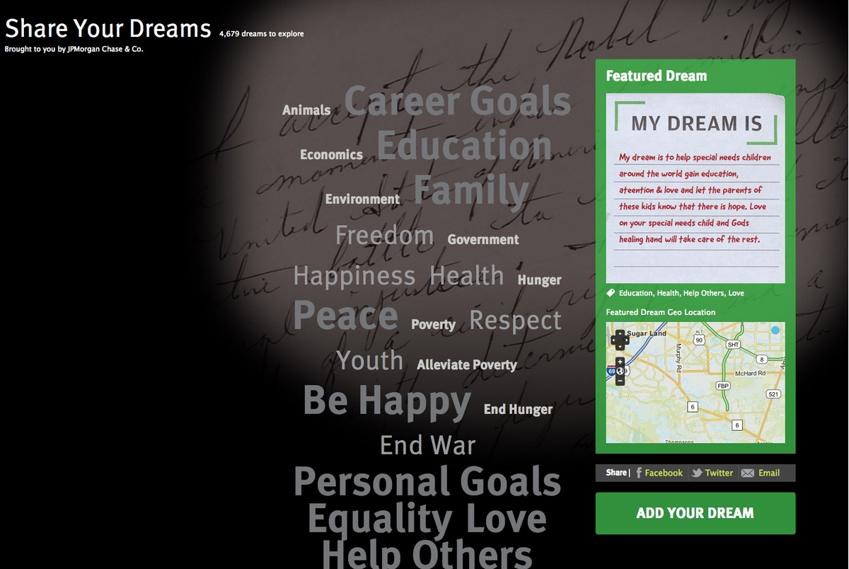 Project image 1 for MLK King Center Dreams, JP Morgan Chase & Co.