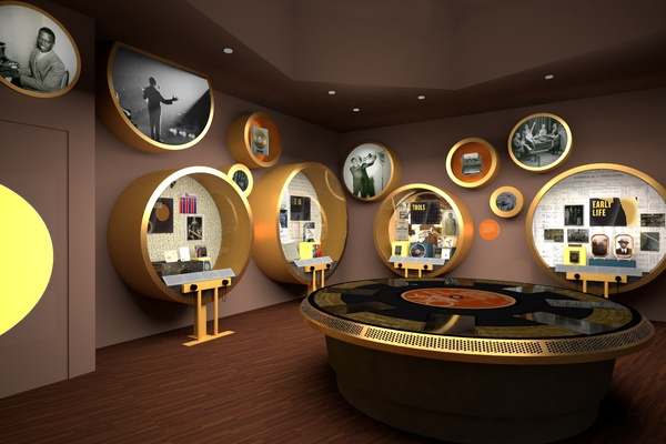 Advance Preview: Exhibition Design for Jazz Legend Louis Armstrong
