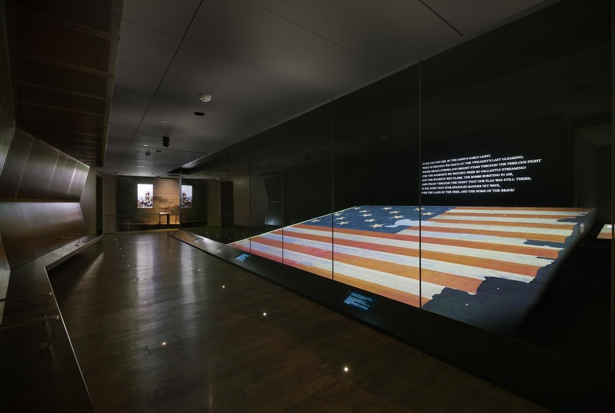 Project image 1 for Star-Spangled Banner Exhibit, National Museum of American History