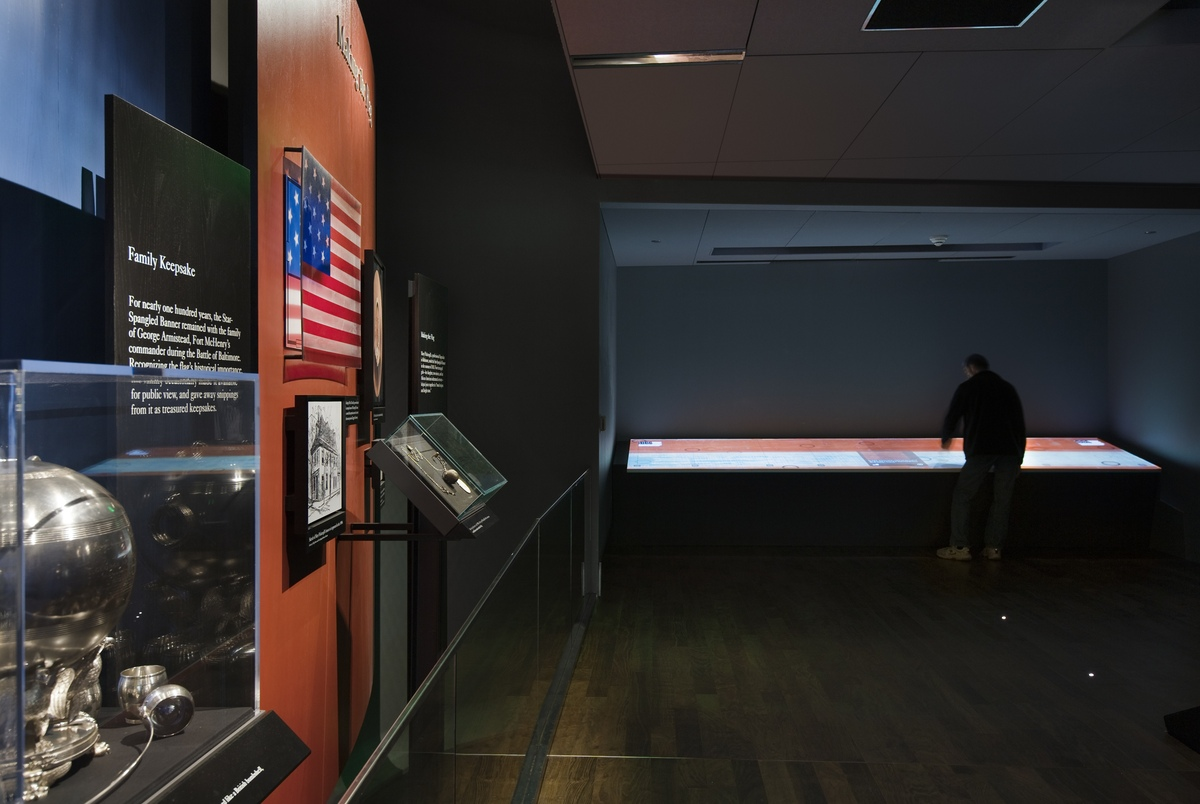 Project image 2 for Star-Spangled Banner Exhibit, National Museum of American History