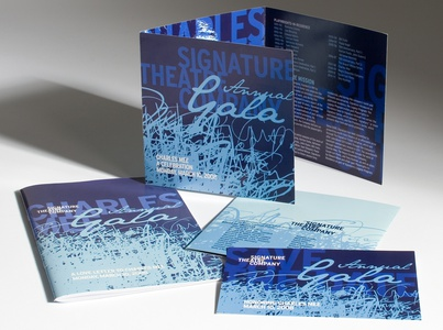 Project image 4 for Branding and Collateral Materials, Signature Theatre Company