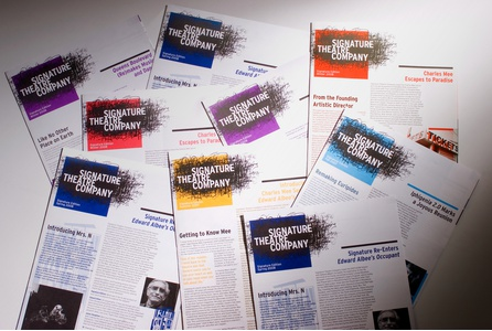 Project image 3 for Branding and Collateral Materials, Signature Theatre Company