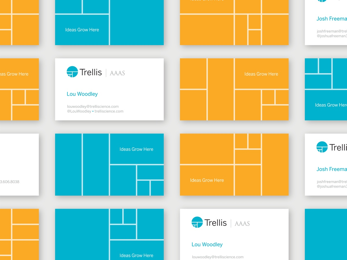 Trellis AAAS Business Cards