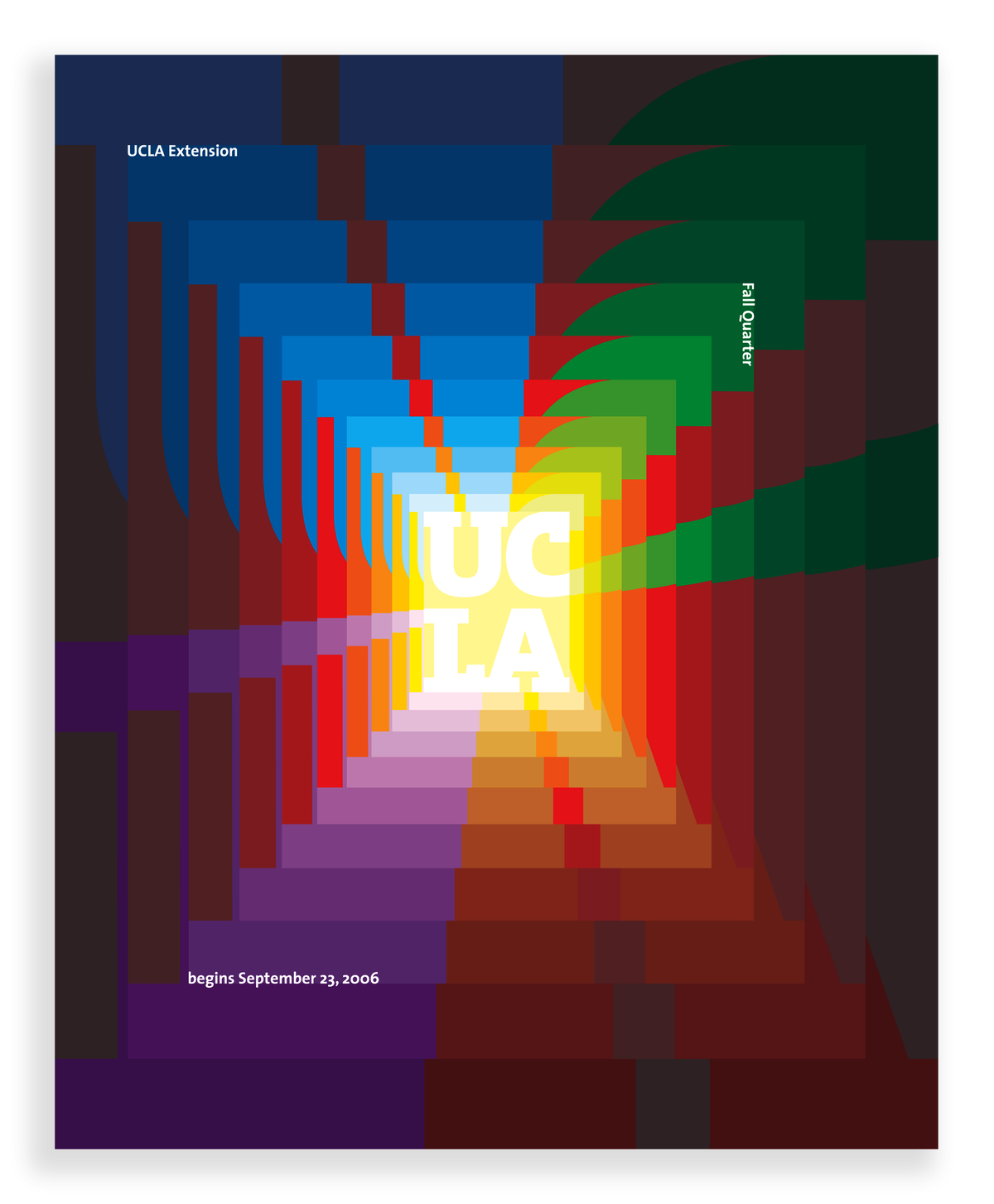 Project image 2 for Catalogue Cover, University of California, Los Angeles