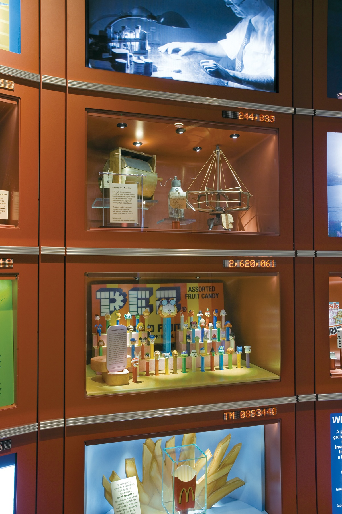 US Patent & Trademark Office, Inventor's Hall of Fame Exhibit