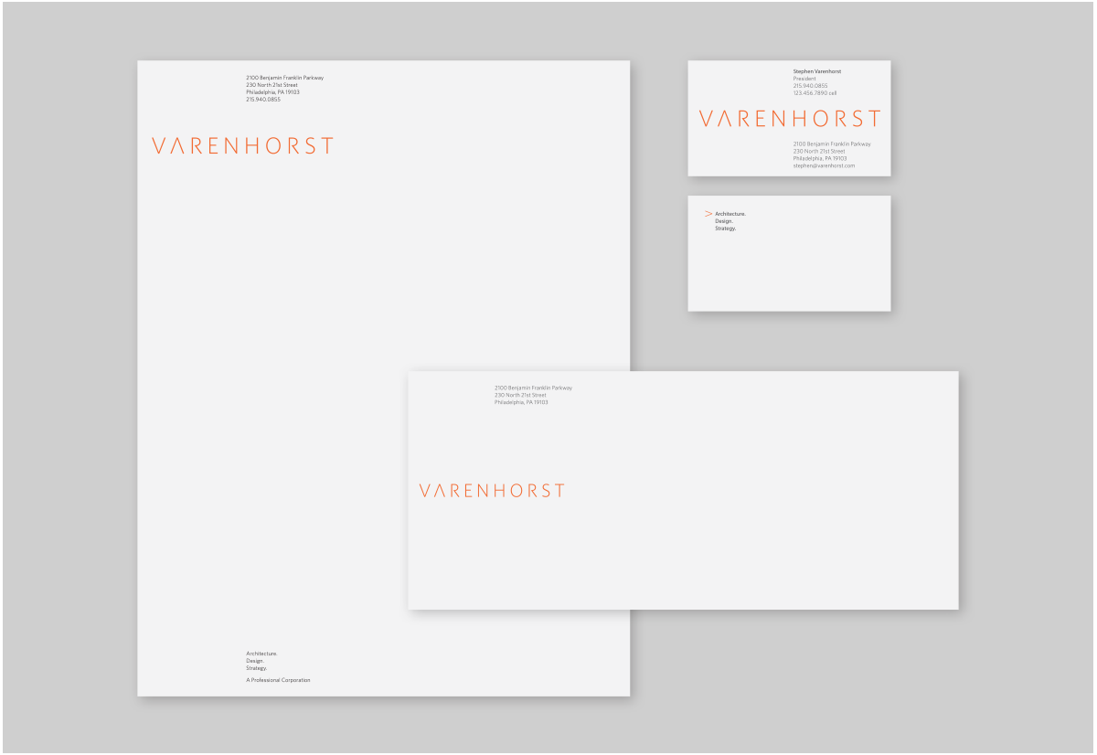 Project image 3 for Identity, Varenhorst