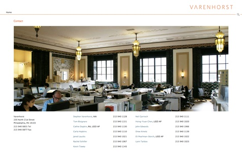 Project image 4 for Website, Varenhorst