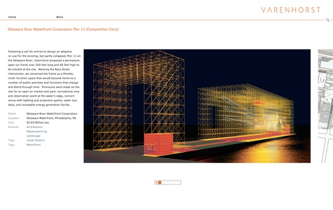 Project image 1 for Website, Varenhorst