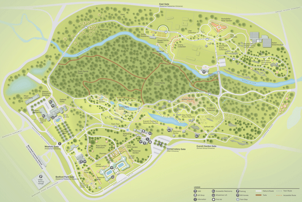 Fresh Project: New York Botanical Garden Map | C&G Partners